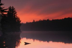Sunrise-over-lake-Ontario