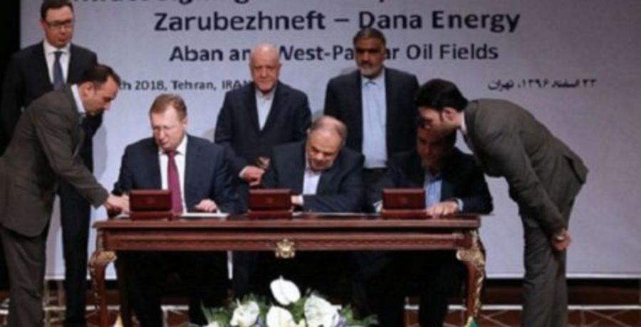 قرارداد جدید نفتی: سهم ایران ۲۰ درصد، سهم روسیه ۸۰ درصد