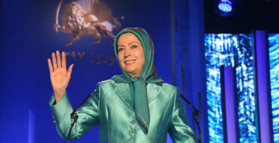 سخنرانی رئیس جمهور برگزیده مقاومت در هنگام تحویل سال ۱۳۹۷