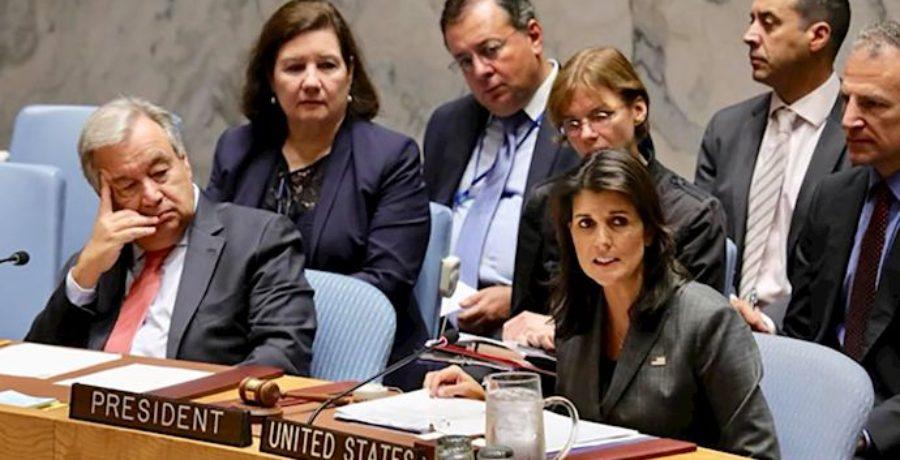 نیکی هیلی: نقش رژیم ایران در حملات مرگبار اسد نادیده گرفته نخواهد شد