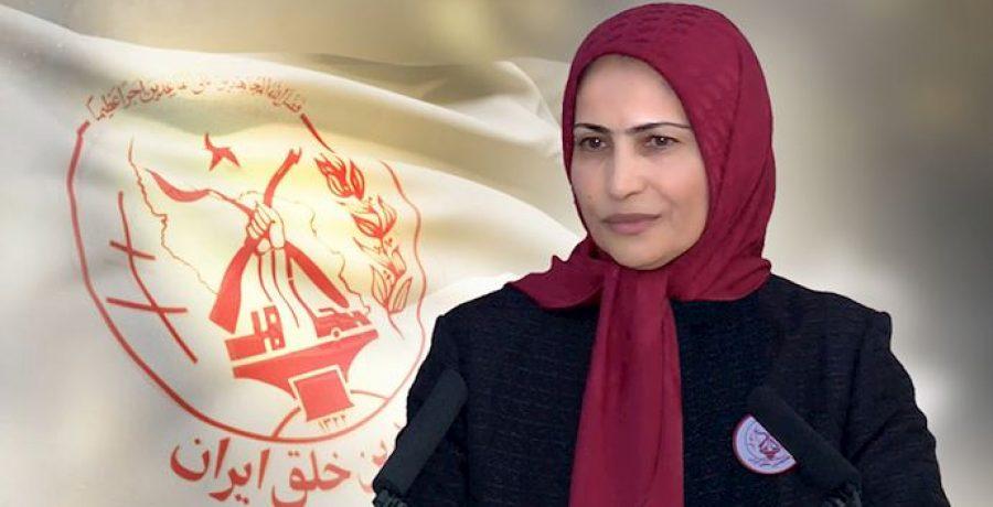 پیام خانم زهرا مریخی مسئول اول سازمان مجاهدین خلق ایران به بیست و پنجمین همیاری ملی