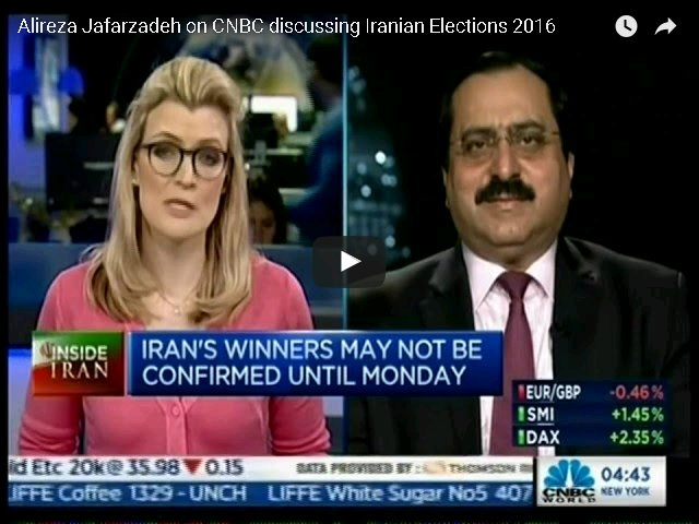 Alireza Jafarzadeh on CNBC