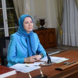 Maryam Rajavi Welcomes the #US Policy Against the Clerical Regime and Its Crimes Against the #Iranian People
