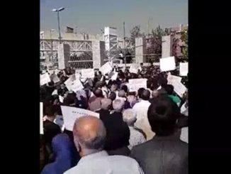 Tehran, Iran Anti-regime protests
