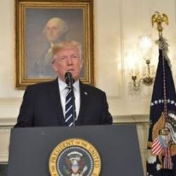 Full transcript of President Trump's remarks about the Iran nuclear deal