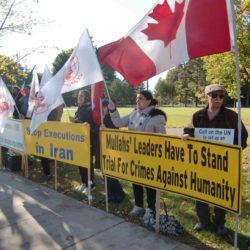 Iranian Canadian 4 Days Demonstration in Ottawa From October 10 – October 13 – Call for Justice for the 1988 Massacre in Iran