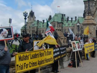 Demonstration in Ottawa-April22, 2017