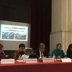 Perseverance of #Iranian women will turn the page of history – Elham Zanjani