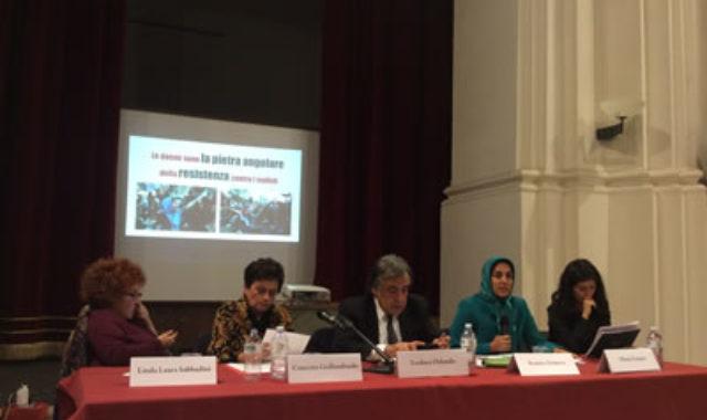 Perseverance of #Iranian women will turn the page of history – Elham Zanjani