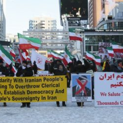 Rally in solidarity with uprising in #Iran – #Toronto, #Canada on January 6th – Photo & Clips