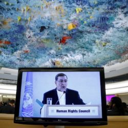 Blacklisted Iranian Official Stirs Outrage at U.N. Human Rights Council