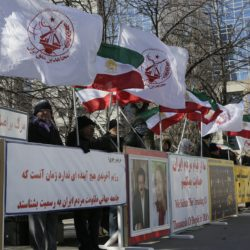 Iranian-Canadians Demonstrations in #Ottawa  and #Toronto in support of uprising in #Iran on Saturday March 3rd 2018