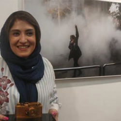 Iran Woman Chosen Press Photographer of the Year