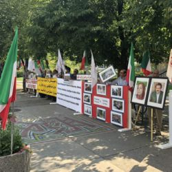 Iranians Diaspora Express Solidarity With Protests and Uprising in Iran
