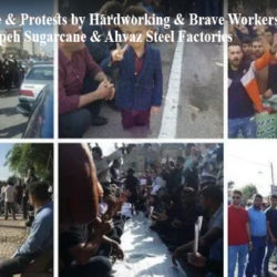 Iran: Angry Workers of Haft Tappeh Demand Release of Co-Workers