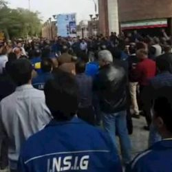 Iran: National Steel Group Workers Protest and Strike in Ahwaz
