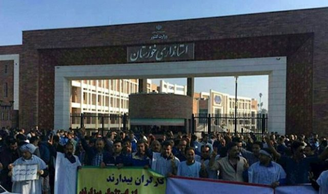 Iran: Ahvaz Steel Workers Continue Second Month of Strike & Protests