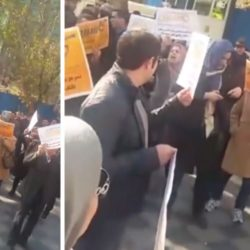 "Iran Protests: Caspian Depositors Chant ""Death to Rouhani"""