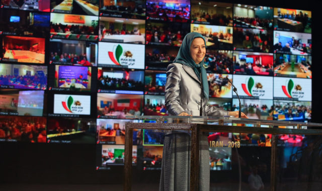 """Hold Iran Regime Accountable For Terrorism & Human Rights Abuses"" Maryam Rajavi Urges Intl Community"